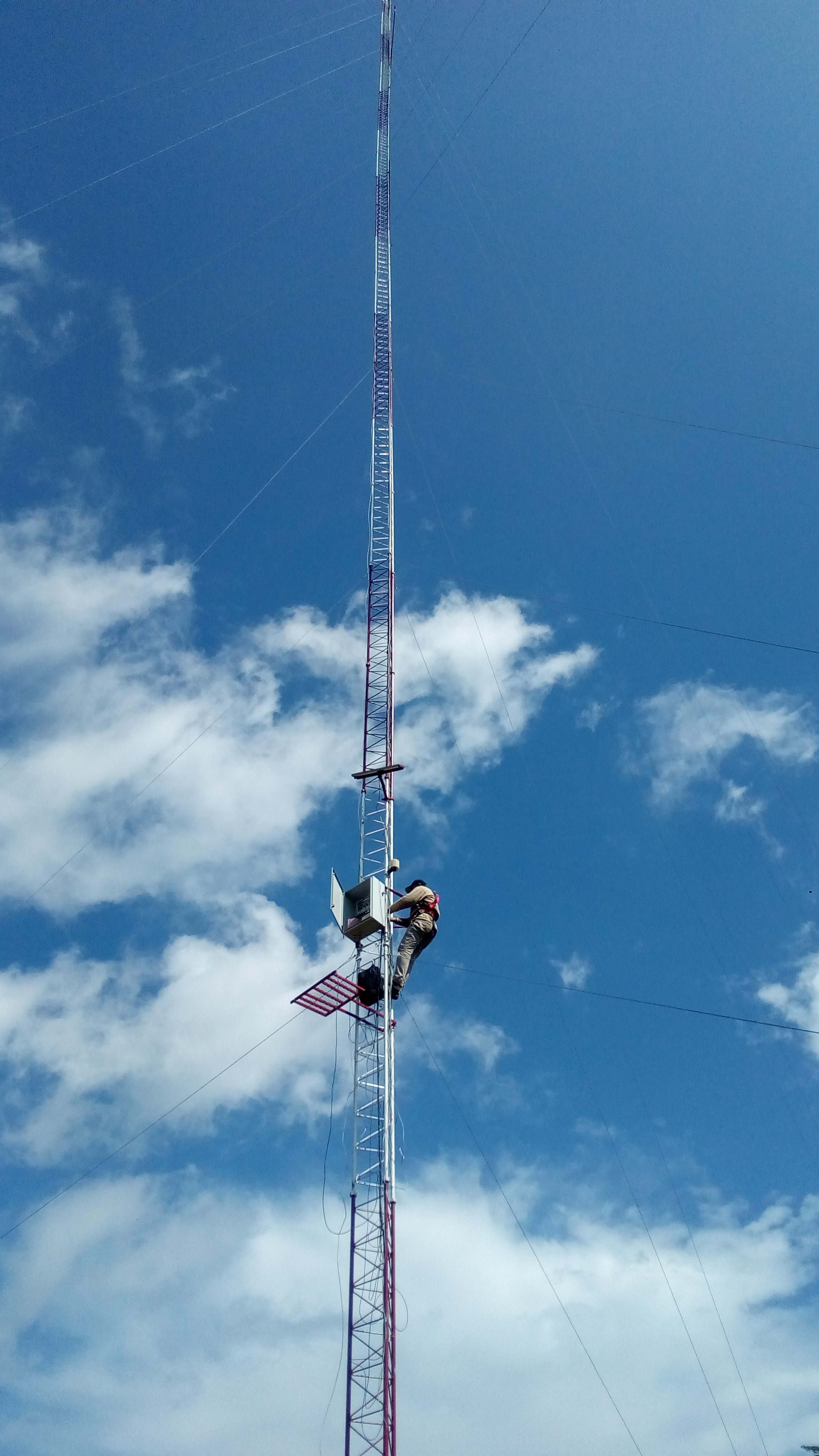 mast installation ghana