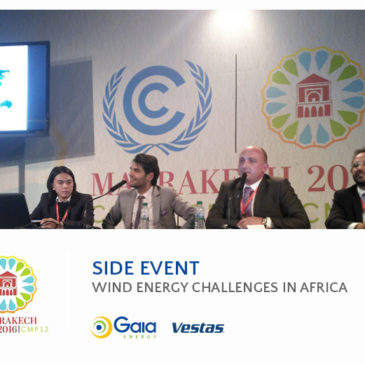 Gaia Energy and Vestas Side Event