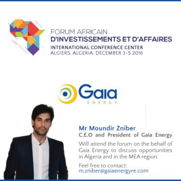 Forum Africain d'investissements et d'Affaires