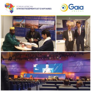 Gaia Energy @ Forum Africain d'investissements et d'Affaires – Algiers