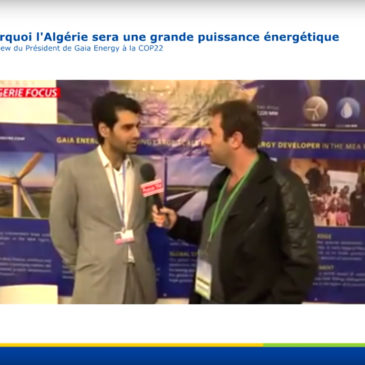 Renewables Algeria – Focus TV Interview