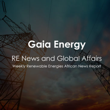 Weekly Renewable Energies African News Report Oct12, 2018