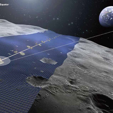 A New Japanese Renewable Energy Project planing to make the biggest solar station on the Moon